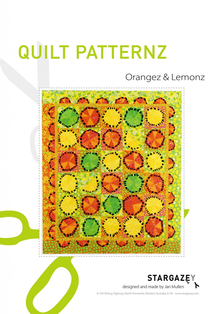 Orangez & Lemonz pattern cover