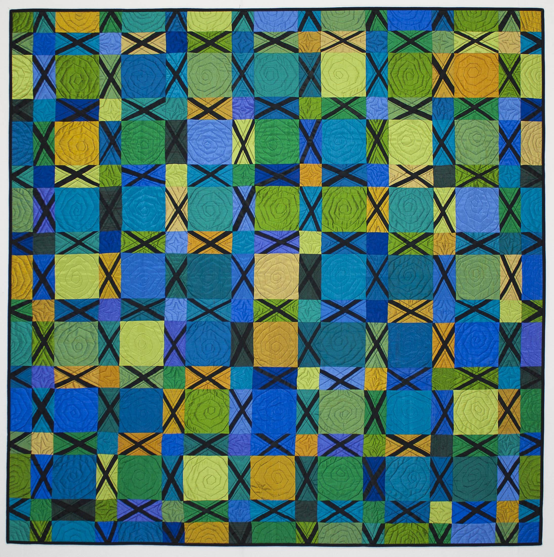 silk crossez quilt