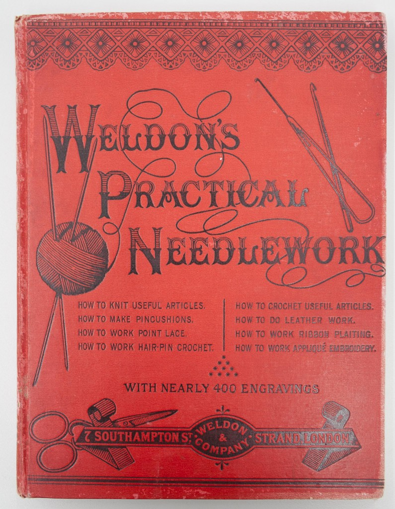 weldon's practical needlework - cover