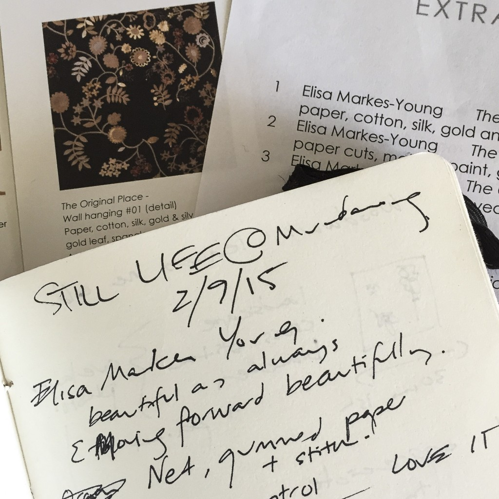 notes on still life - elisa