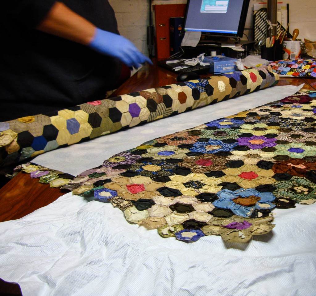 a quilt from the Armadale museum collection