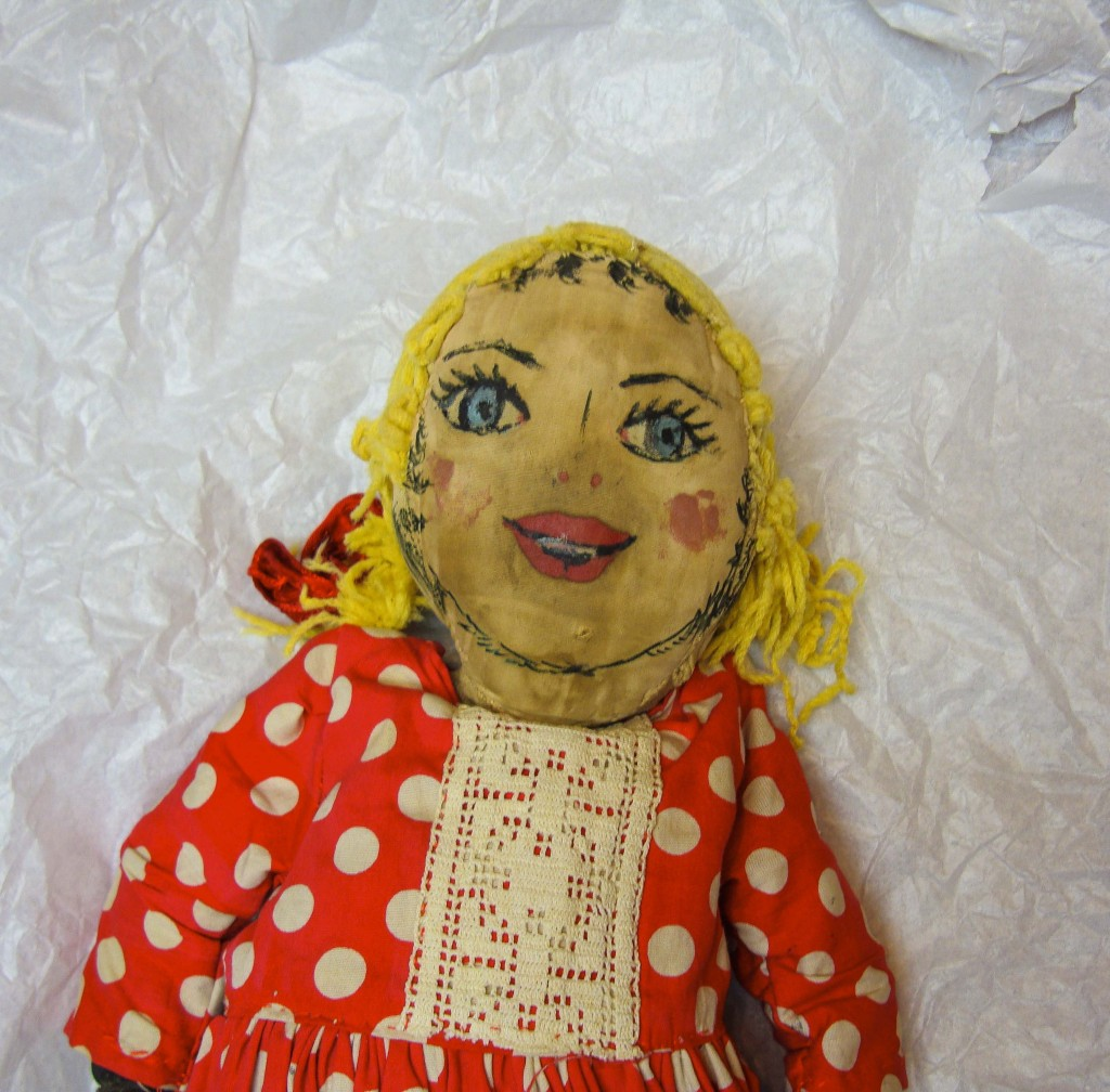 a doll from the armadale museum collection