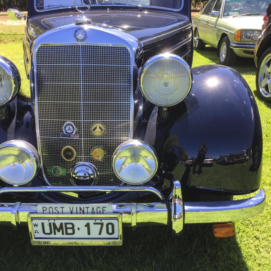 german auto day at dwellingup -black & beautiful