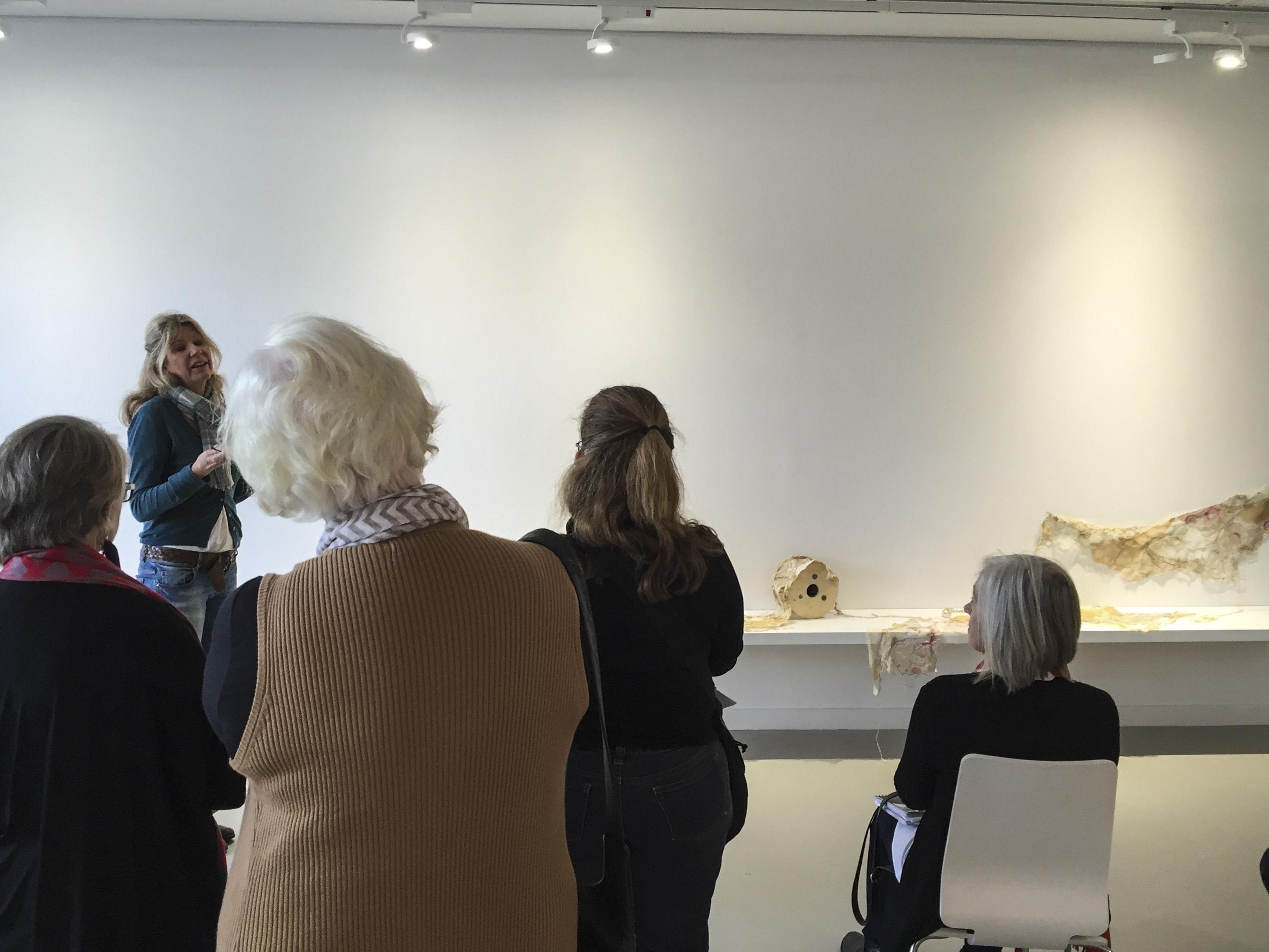 annie shelley speaking about her work at twentyONE+