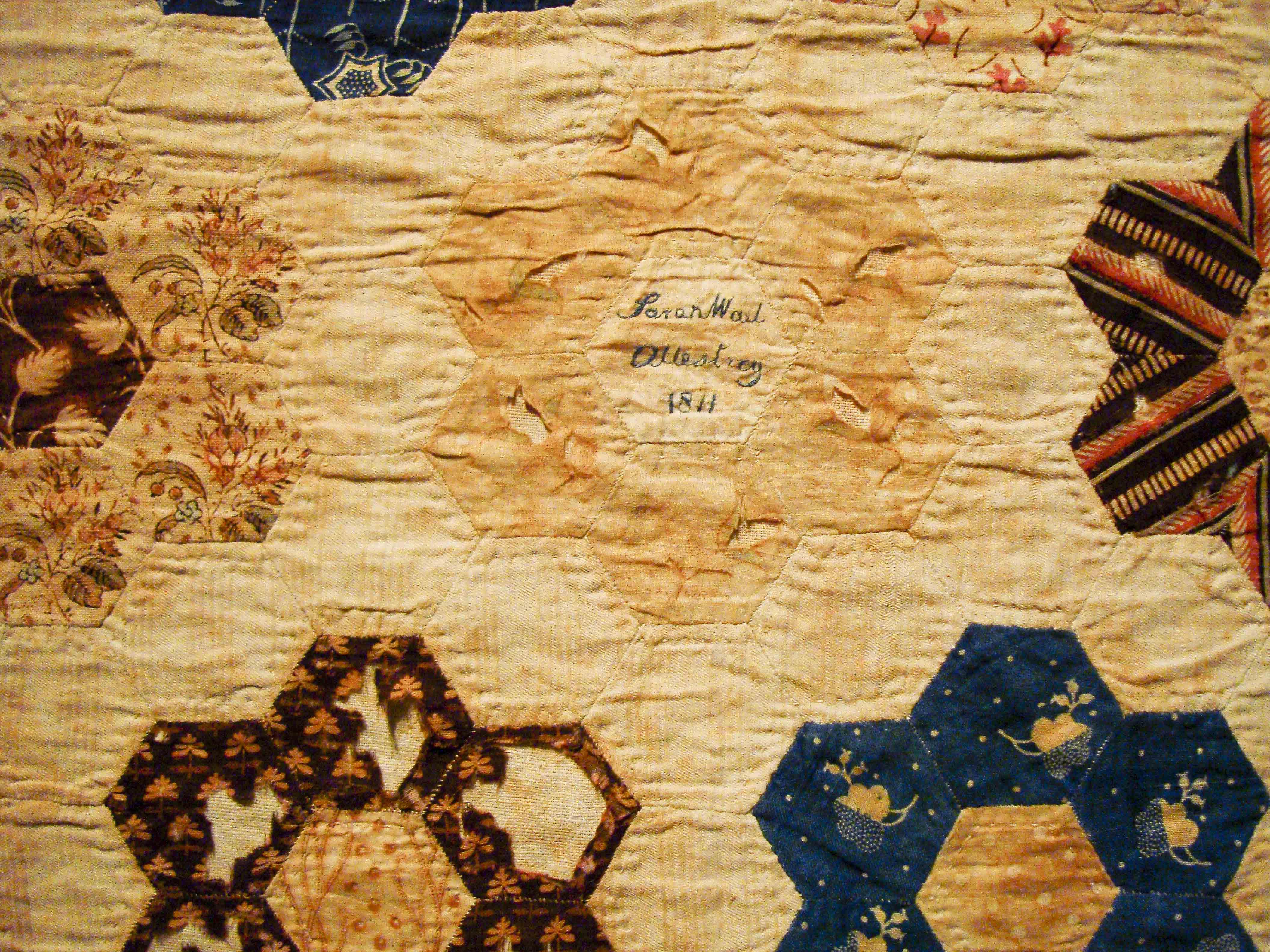 making the australian quilt