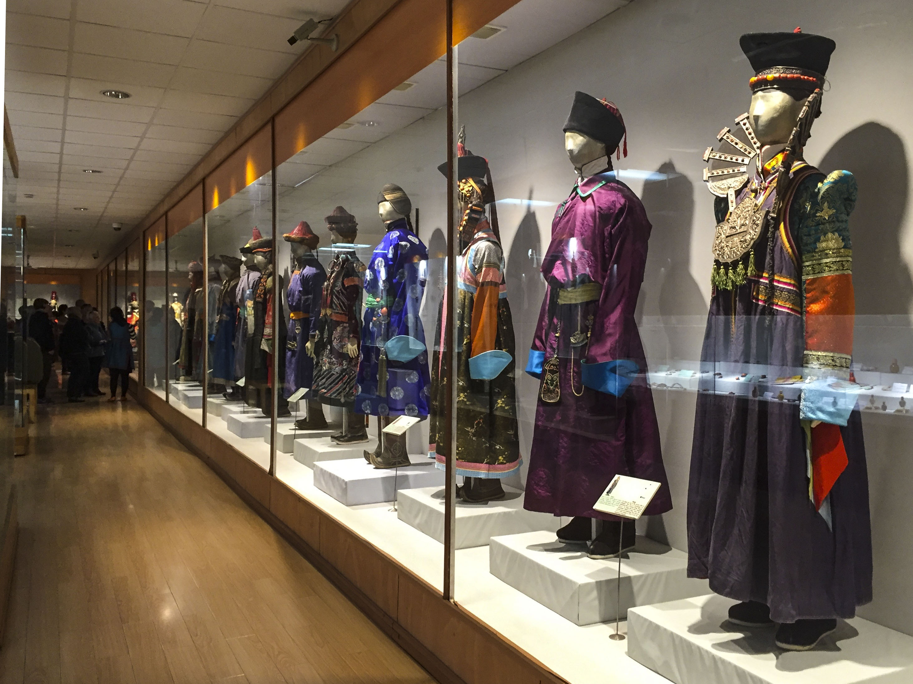 a vast array of mongolian costume