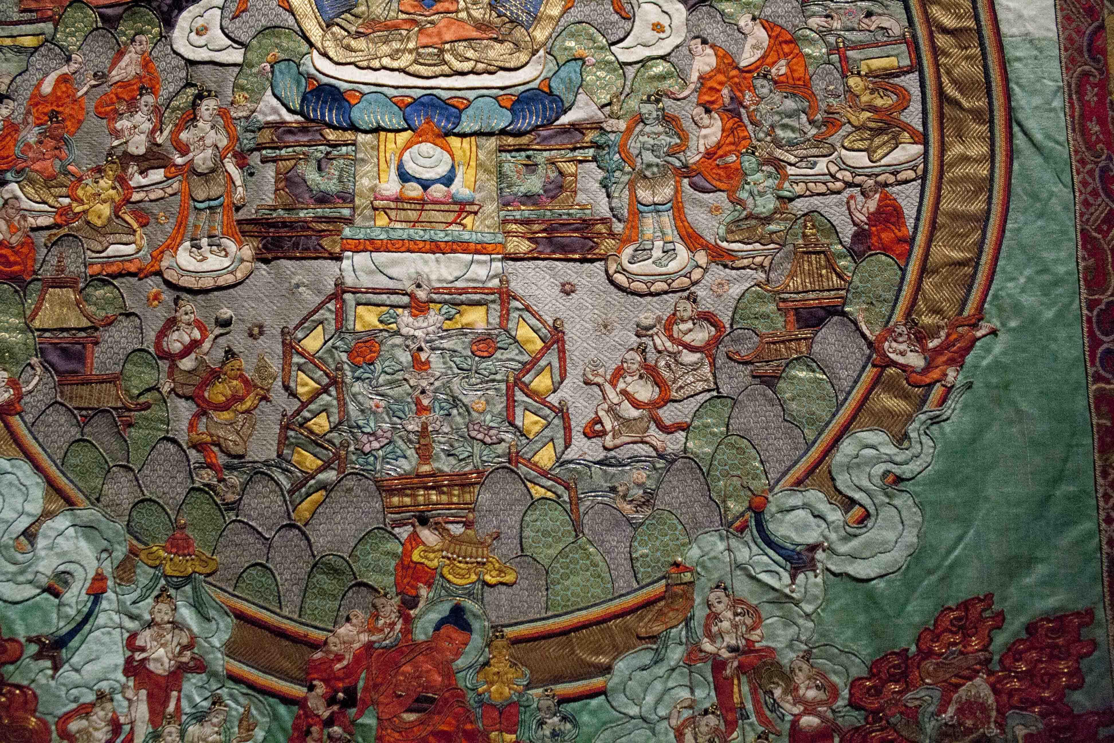textiles in mongolia